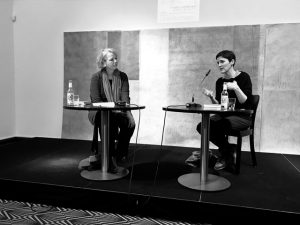 Ulrike Vedder (li.), Anke Stelling (re.)